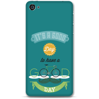 IPhone 4-4s Designer Hard-Plastic Phone Cover from Print Opera - Good Day