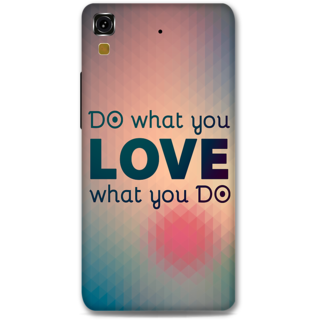 Micromax Yureka Designer Hard-Plastic Phone Cover from Print Opera - Do What You Love