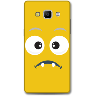 Samsung Galaxy A7 2015 Designer Hard-Plastic Phone Cover from Print Opera - Confused Face