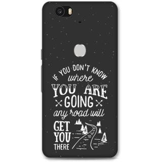 Google Nexus 6p Designer Hard-Plastic Phone Cover from Print Opera -Journey of Life