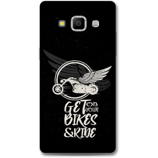 Samsung Galaxy A7 2015 Designer Hard-Plastic Phone Cover from Print Opera - Get On Your Bikes