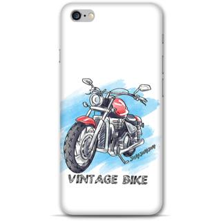 IPhone 6-6s Plus Designer Hard-Plastic Phone Cover from Print Opera - Vintage Bike