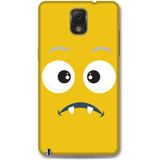 Samsung Galaxy Note 3 Designer Hard-Plastic Phone Cover from Print Opera - Confused Face