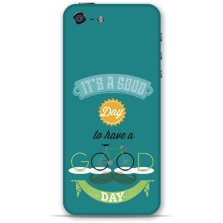 IPhone 5-5s Designer Hard-Plastic Phone Cover from Print Opera - Good Day