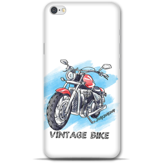 IPhone 6-6s Designer Hard-Plastic Phone Cover from Print Opera - Vintage Bike