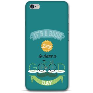 IPhone 6-6s Plus Designer Hard-Plastic Phone Cover from Print Opera - Good Day