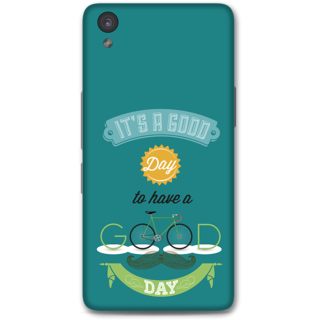 One Plus X Designer Hard-Plastic Phone Cover from Print Opera - Good Day