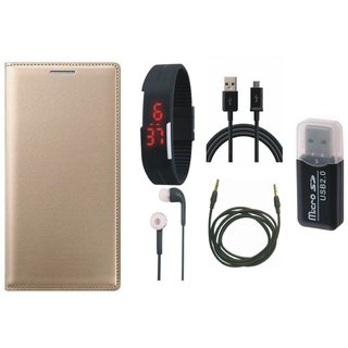 Lenovo K5 Cover with Memory Card Reader, Digital Watch, Earphones, USB Cable and AUX Cable
