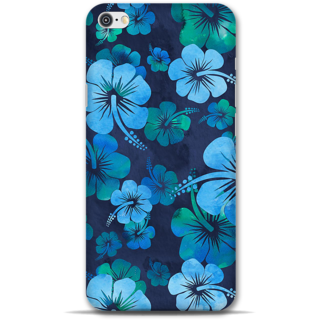 IPhone 6-6s Designer Hard-Plastic Phone Cover from Print Opera -Blue flowers