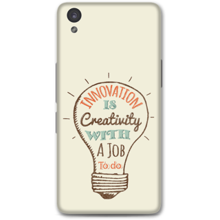 One Plus X Designer Hard-Plastic Phone Cover from Print Opera -Innovation is creativity with a job to do