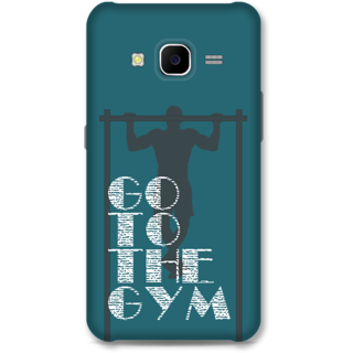 Samsung Galaxy J7 2015 Designer Hard-Plastic Phone Cover from Print Opera -Go to the gym
