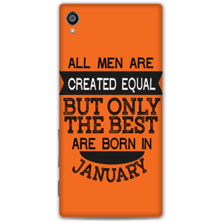 Sony Xperia Z5 Premium Designer Hard-Plastic Phone Cover from Print Opera -January born