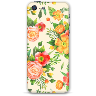 IPhone 5-5s Designer Hard-Plastic Phone Cover from Print Opera -Yellow floral