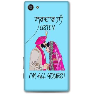 Sony Xperia Z5 Compact Designer Hard-Plastic Phone Cover from Print Opera -Sardar ji