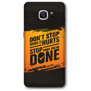 Samsung Galaxy Note 5 Designer Hard-Plastic Phone Cover from Print Opera -Dont stop when it hurts