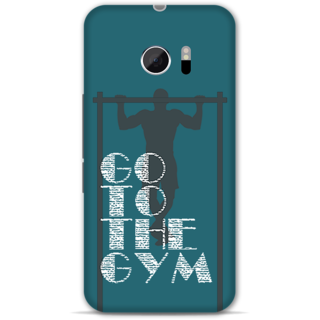Htc 10 Designer Hard-Plastic Phone Cover from Print Opera -Go to the gym
