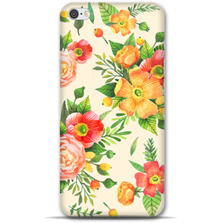 IPhone 6-6s Designer Hard-Plastic Phone Cover from Print Opera -Yellow floral