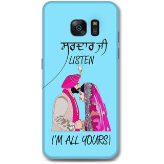 Samsung Galaxy S7 Designer Hard-Plastic Phone Cover from Print Opera -Sardar ji