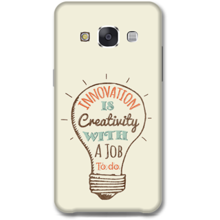 Samsung Galaxy E7 Designer Hard-Plastic Phone Cover from Print Opera -Innovation is creativity with a job to do