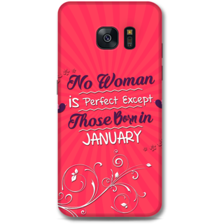 Samsung Galaxy S7 Designer Hard-Plastic Phone Cover from Print Opera -January born
