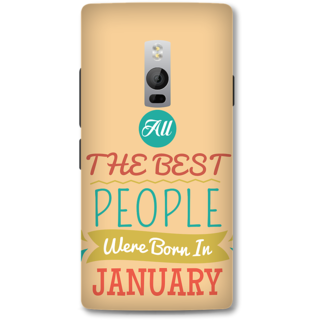 One Plus Two Designer Hard-Plastic Phone Cover from Print Opera -Best People