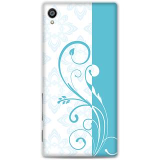 Sony Xperia Z5 Premium Designer Hard-Plastic Phone Cover from Print Opera -Blue floral