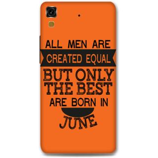 Micromax Yureka Designer Hard-Plastic Phone Cover from Print Opera -Men Born in June