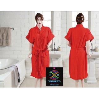 INFINITY Super Soft Bathrobe SPA Gown