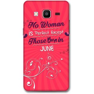Samsung Galaxy On5 Designer Hard-Plastic Phone Cover from Print Opera -Perfect women born in june