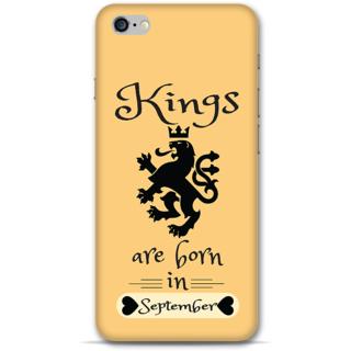 IPhone 6-6s Plus Designer Hard-Plastic Phone Cover from Print Opera -September Born Kings