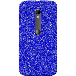 size 40 691c2 ddbdb Moto G3 Case, Moto G Turbo Case, Sparkle Blue Slim Fit Hard Case Cover/Back  Cover for Motorola Moto G3/Moto G 3rd Gen/Moto G Turbo