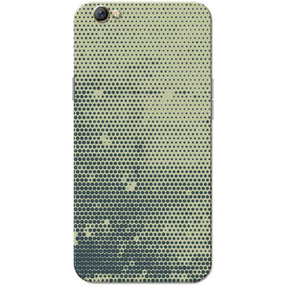 Oppo F3 Case, Black Dots Grey Slim Fit Hard Case Cover/Back Cover for OPPO F3