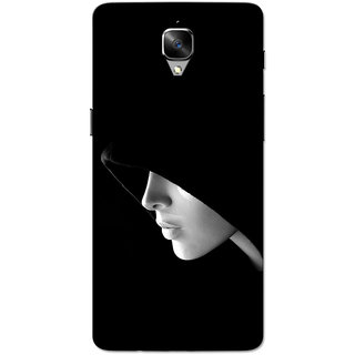 OnePlus 3T Case, One Plus 3 Case, The Mask Slim Fit Hard Case Cover/Back Cover for OnePlus 3/OnePlus 3T