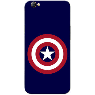 Oppo F3 Case, CA Navy Blue Slim Fit Hard Case Cover/Back Cover for OPPO F3