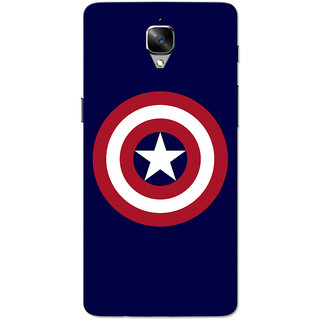 OnePlus 3T Case, One Plus 3 Case, CA Navy Blue Slim Fit Hard Case Cover/Back Cover for OnePlus 3/OnePlus 3T