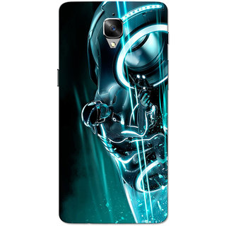 OnePlus 3T Case, One Plus 3 Case, Crazy Rider Aqua Slim Fit Hard Case Cover/Back Cover for OnePlus 3/OnePlus 3T