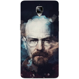 OnePlus 3T Case, One Plus 3 Case, HeisenBerg Slim Fit Hard Case Cover/Back Cover for OnePlus 3/OnePlus 3T