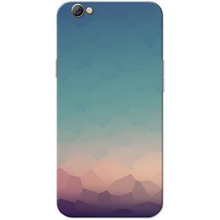 Oppo F3 Case, Crystal Scene Slim Fit Hard Case Cover/Back Cover for OPPO F3