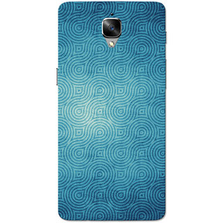 OnePlus 3T Case, One Plus 3 Case, Crystal Blue Slim Fit Hard Case Cover/Back Cover for OnePlus 3/OnePlus 3T