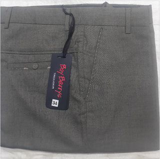 Bay Berry's Mens Polo Fit Formal Trouser  (Only 34 Waist)