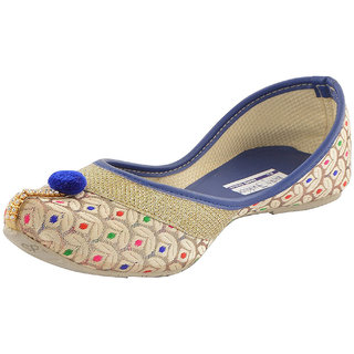 Vaniya shoes Women's Blue Bellies