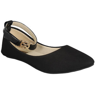 Vaniya shoes Women's Black Bellies