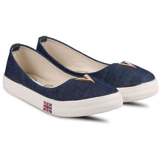 bellies  Buy Vaniya shoes Women's Blue Bellies Online - Get 8% Off