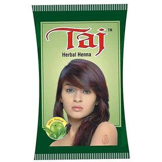 Taj Herbal Burgundy Hair Color (set off 6 Piece)