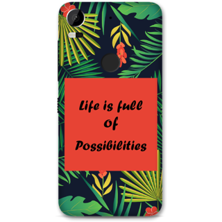 HTC 10 Pro Designer Hard-Plastic Phone Cover from Print Opera -Life is full of possibilities