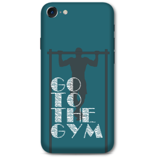 Iphone 7 Designer Hard-Plastic Phone Cover from Print Opera -Go to the gym