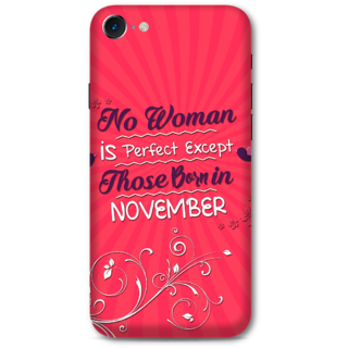 Iphone 7 Designer Hard-Plastic Phone Cover from Print Opera -Perfect women born in November