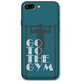 Iphone 7 plus Designer Hard-Plastic Phone Cover from Print Opera -Go to the gym