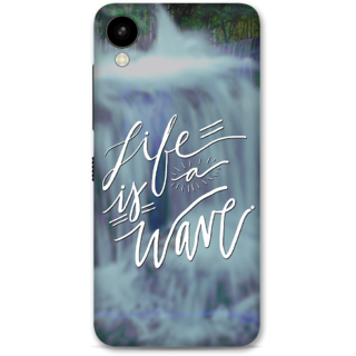 HTC 825 Designer Hard-Plastic Phone Cover from Print Opera -Life is a wave