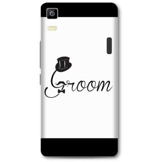 Lenovo K3 Note Designer Hard-Plastic Phone Cover from Print Opera -Groom